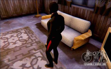 Lady Shiva no jogo Batman Arkham origens para GTA San Andreas terceira tela
