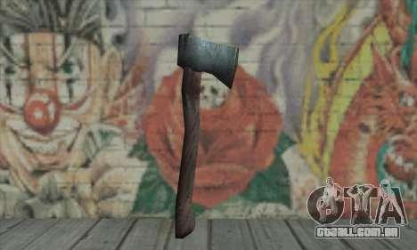 Axe para GTA San Andreas segunda tela