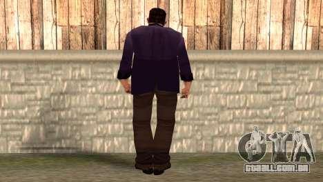 Toni Cipriani para GTA San Andreas segunda tela