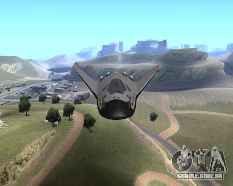 FARSCAPE modul para GTA San Andreas vista traseira
