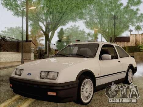 Ford Sierra Mk1 Coupe GHIA para GTA San Andreas