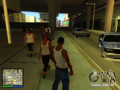 Pak peles de meninas para GTA San Andreas oitavo tela