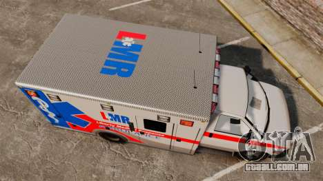 Brute Liberty Ambulance [ELS] para GTA 4 vista direita