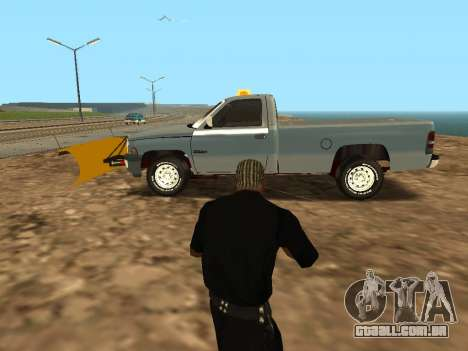 Dodge Ram para GTA San Andreas esquerda vista