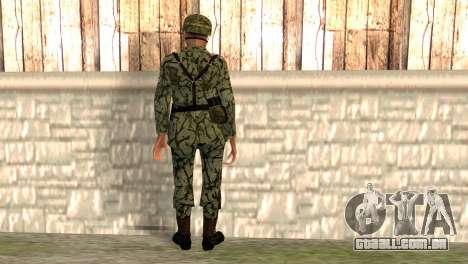 Soldados fascistas para GTA San Andreas segunda tela