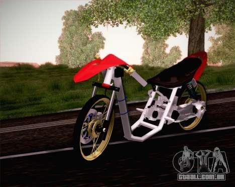 Yamaha Mio para GTA San Andreas