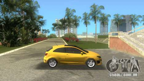 Seat Ibiza Cupra para GTA Vice City deixou vista
