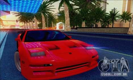 Acura NSX Drift para GTA San Andreas vista interior