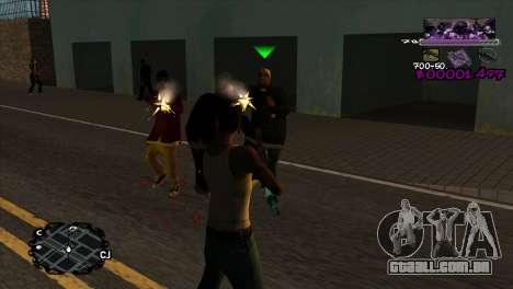 Ballas C-HUD para GTA San Andreas segunda tela