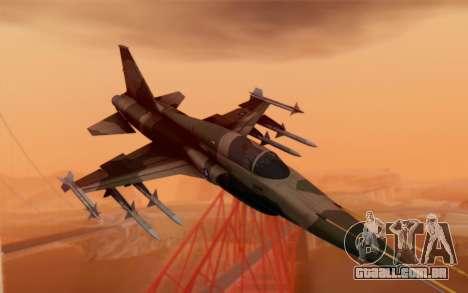F-5 Tiger II para GTA San Andreas