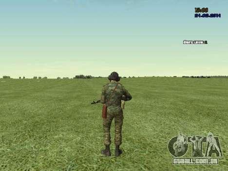 Tankman para GTA San Andreas sétima tela