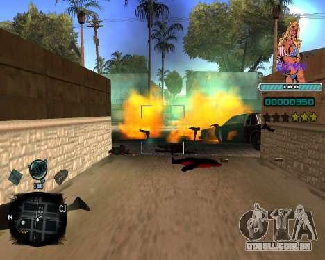 C-HUD Quintero para GTA San Andreas terceira tela