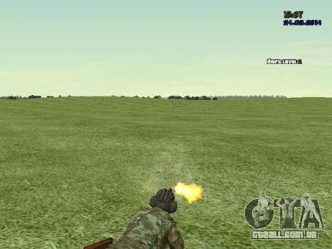 Tankman para GTA San Andreas quinto tela