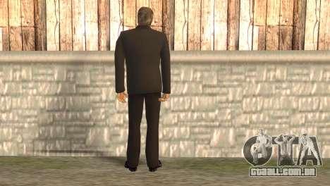 Chefe da máfia para GTA San Andreas segunda tela