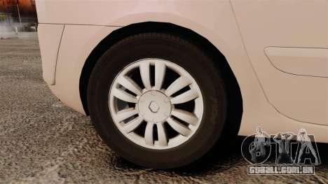 Renault Espace IV Initiale v1.1 para GTA 4 vista de volta