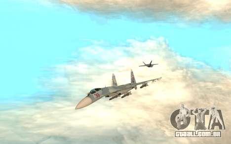 Su-33 para GTA San Andreas