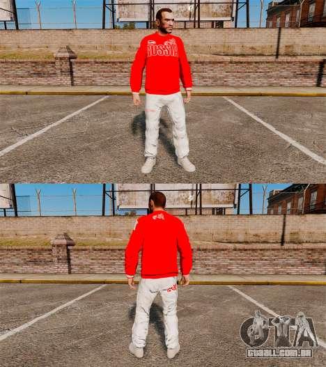 Vestuário-Bosco esporte- para GTA 4 terceira tela