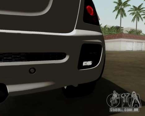 MINI Cooper S 2012 para GTA San Andreas vista traseira