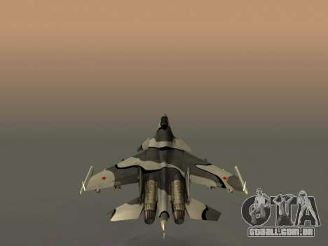 Su-33 para as rodas de GTA San Andreas