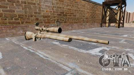 O rifle sniper M24 SWS para GTA 4
