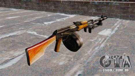 A luz metralhadora RPK-74 para GTA 4 segundo screenshot
