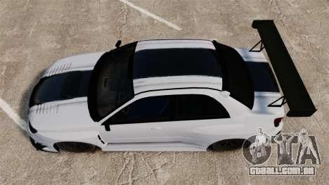 Subaru Impreza v2.0 para GTA 4 vista direita