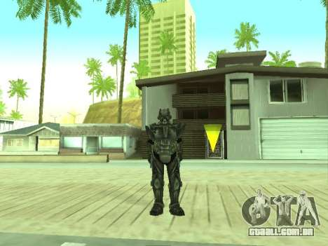 New skin from Fallout 3 para GTA San Andreas segunda tela