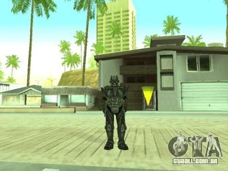 New skin from Fallout 3 para GTA San Andreas segunda tela