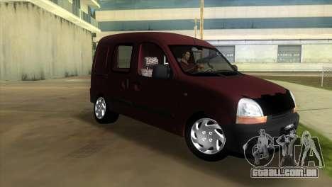 Renault Kangoo para GTA Vice City deixou vista