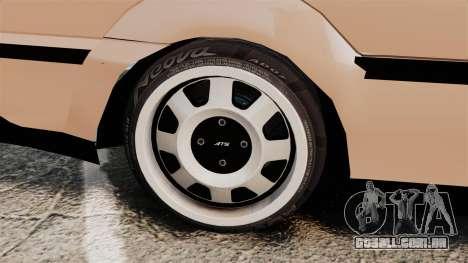 Volkswagen Saveiro G3 SuperSurf para GTA 4 vista interior