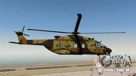 Eurocopter NHIndustries NH90 [EPM] para GTA 4 vista de volta