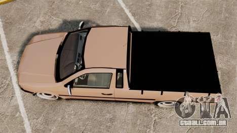 Volkswagen Saveiro G3 SuperSurf para GTA 4 vista direita