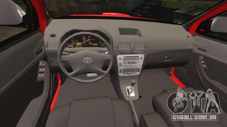 Toyota Hilux Land Forces France [ELS] para GTA 4 vista lateral