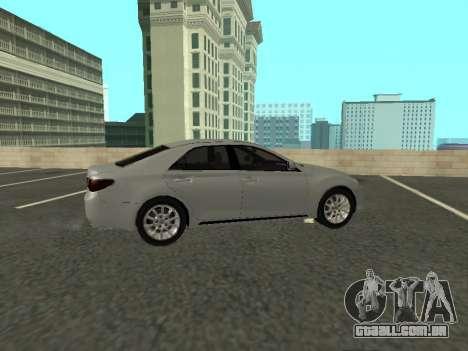 Toyota Mark X para GTA San Andreas vista traseira