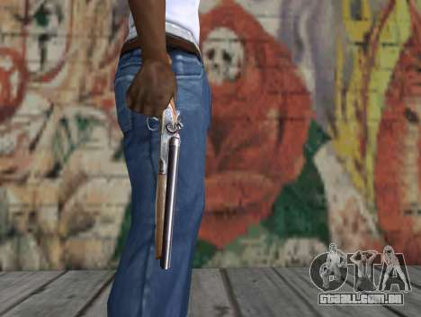 Uma espingarda de um Stalker para GTA San Andreas terceira tela