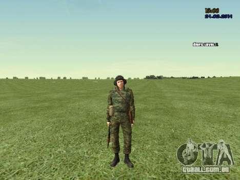 Tankman para GTA San Andreas sexta tela