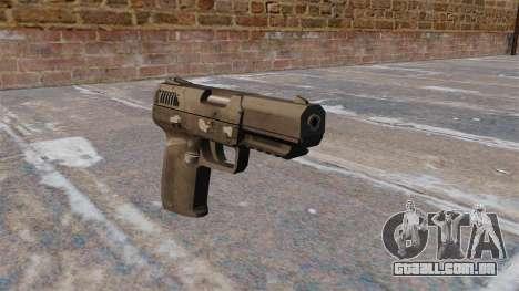Carregamento automático pistola FN Five-seveN MW para GTA 4