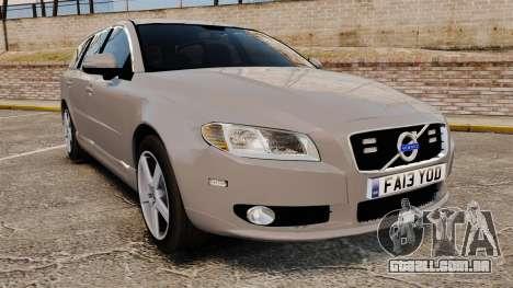 Volvo V70 Unmarked Police [ELS] para GTA 4