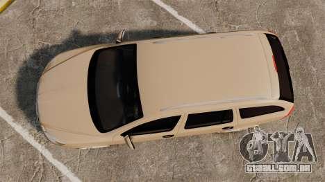 Skoda Octavia RS Stock para GTA 4 vista direita