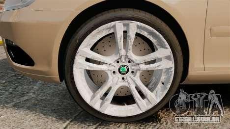 Skoda Octavia RS Stock para GTA 4 vista de volta