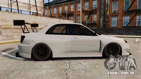 Subaru Impreza v2.0 para GTA 4 esquerda vista