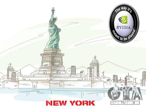 Loadscreens New-York para GTA San Andreas terceira tela