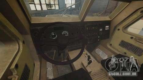 Cougar MRAP 4X4 para GTA 4 vista de volta