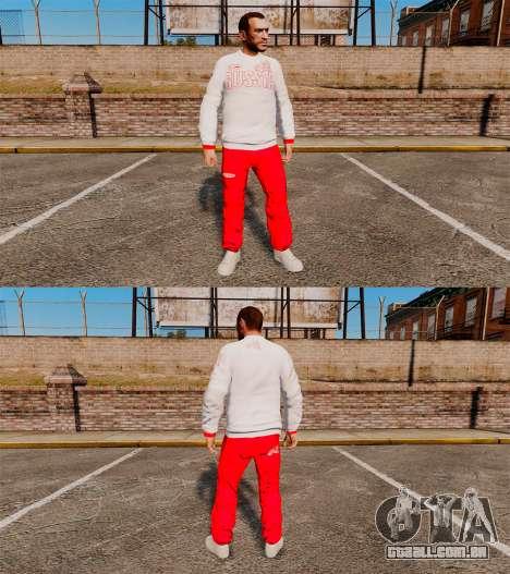 Vestuário-Bosco esporte- para GTA 4 por diante tela