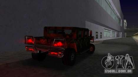 Textura patriota russo para GTA Vice City deixou vista