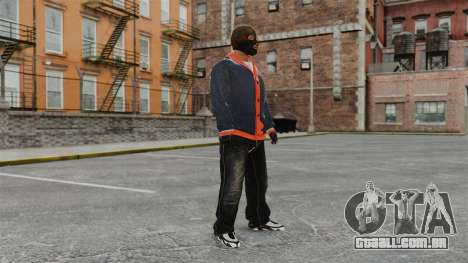 Franklin Clinton v2 para GTA 4 segundo screenshot