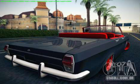 GAZ Volga 24 Cabriolet para GTA San Andreas vista direita