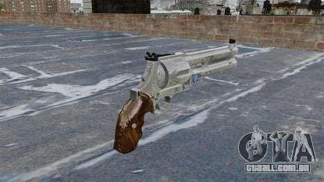 Revólver-Blue Rose- para GTA 4 segundo screenshot