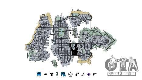 Liberty City Map V Style para GTA 4