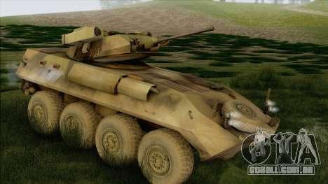 Camuflagem de floresta LAV-25 para GTA San Andreas